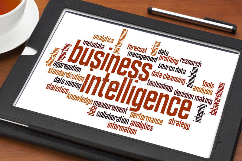 Business intelligence stock images