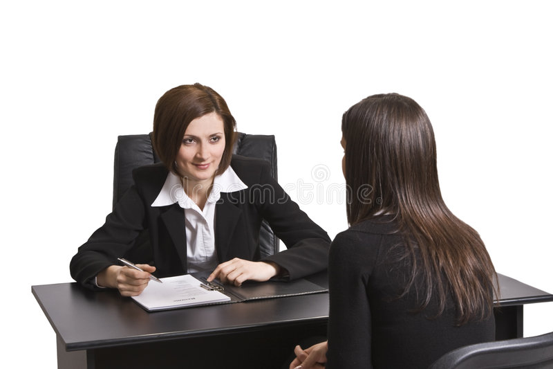 Download Business interview stock image. Image of nhire, data, meet - 7901593