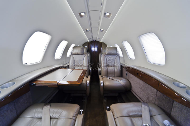 business jet interior stock photo image of flight ground 31205204. Black Bedroom Furniture Sets. Home Design Ideas