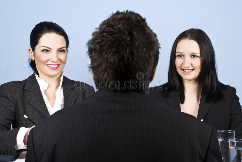 Download Business job interview stock image. Image of colleagues - 12503857