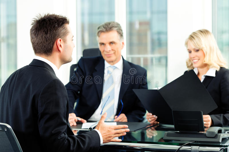 Business - Job Interview stock photography