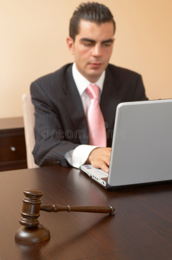 Business justice stock photos