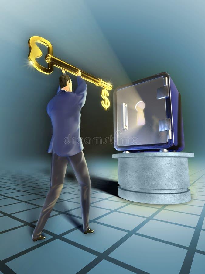 Business Key vector illustration