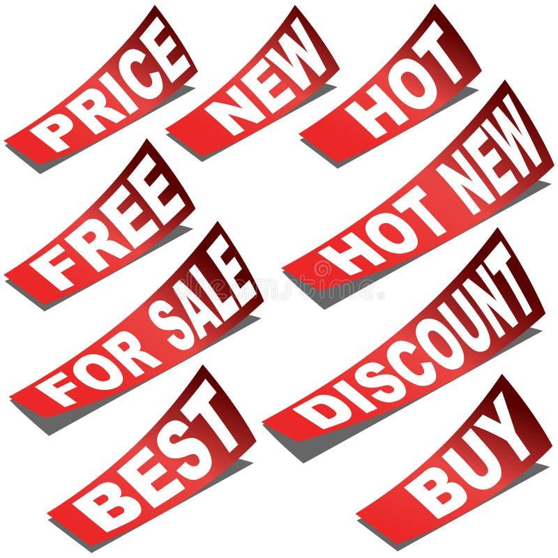 Download Business Labels stock vector. Illustration of design - 24782734