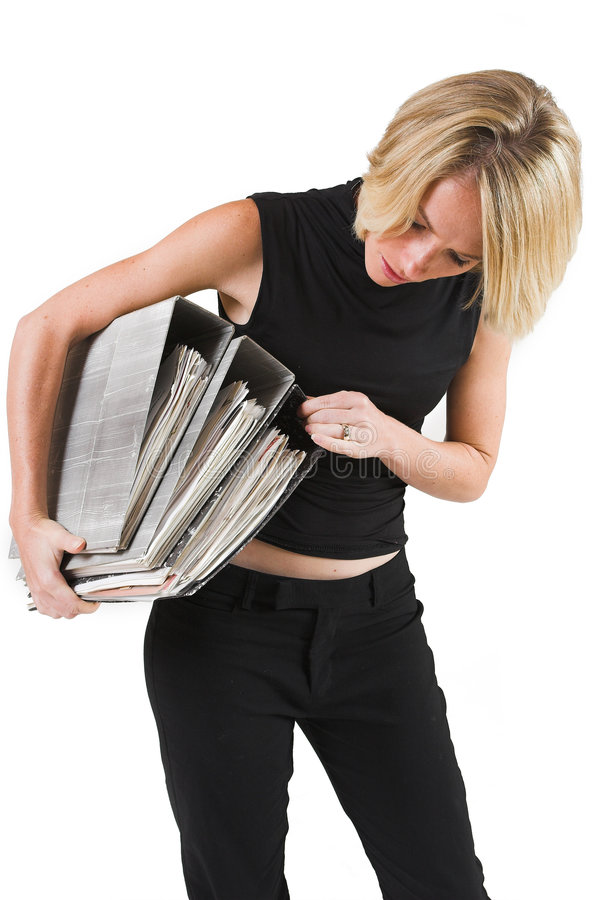 Download Business Lady #34 stock photo. Image of hold, carry, carrying - 135986