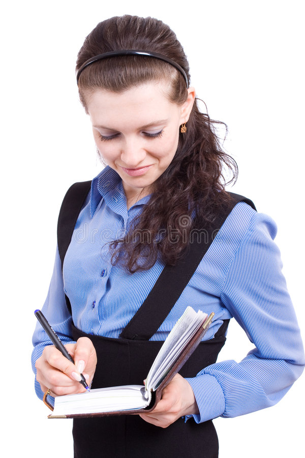 Download Business lady stock photo. Image of education, global - 4741344