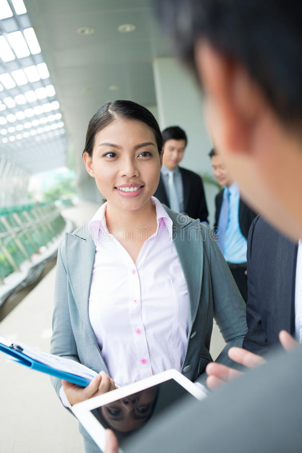 Download Business lady stock photo. Image of colleagues, business - 34944690