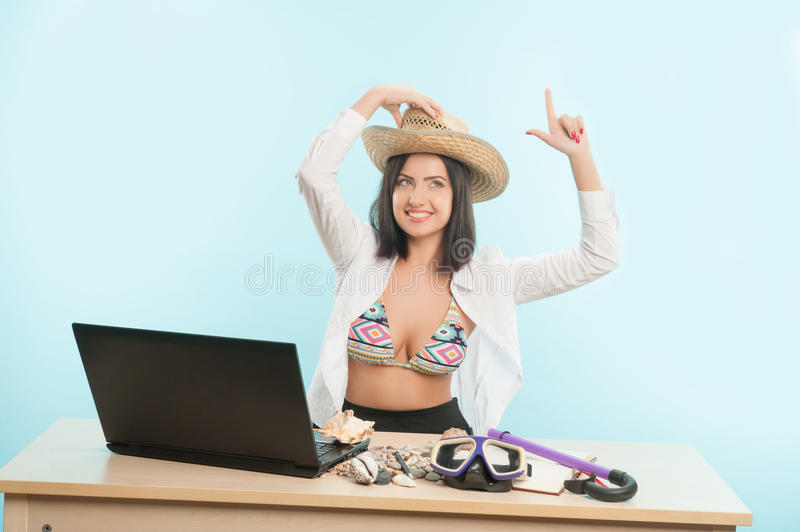 Download Business Lady Wants To Have A Rest Stock Image - Image of future, hope: 42748171