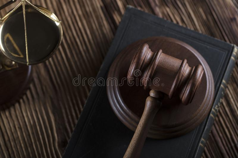 Business and law theme. royalty free stock photo