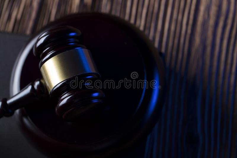 Business and law theme. stock images