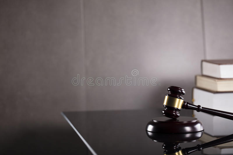 Business and law theme. Tax law. Modern law concept. Business and finance stock photo