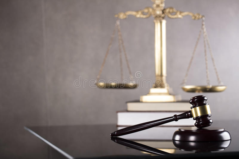 Business and law theme. Tax law. Modern law concept. Business and finance stock image