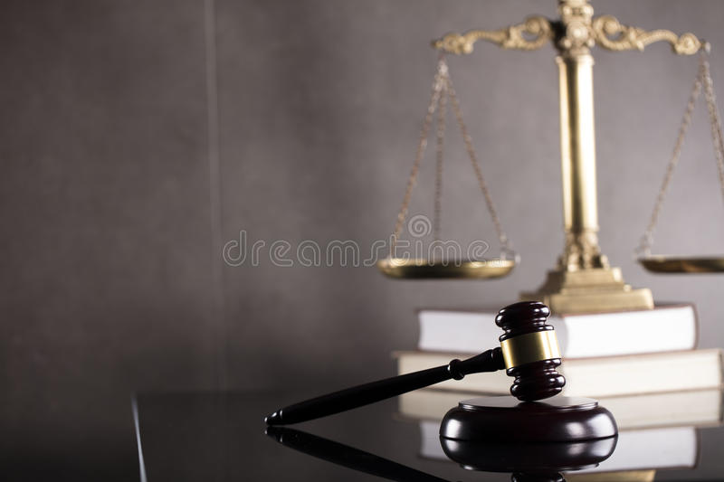 Business and law theme. Tax law. Modern law concept. Business and finance royalty free stock photography