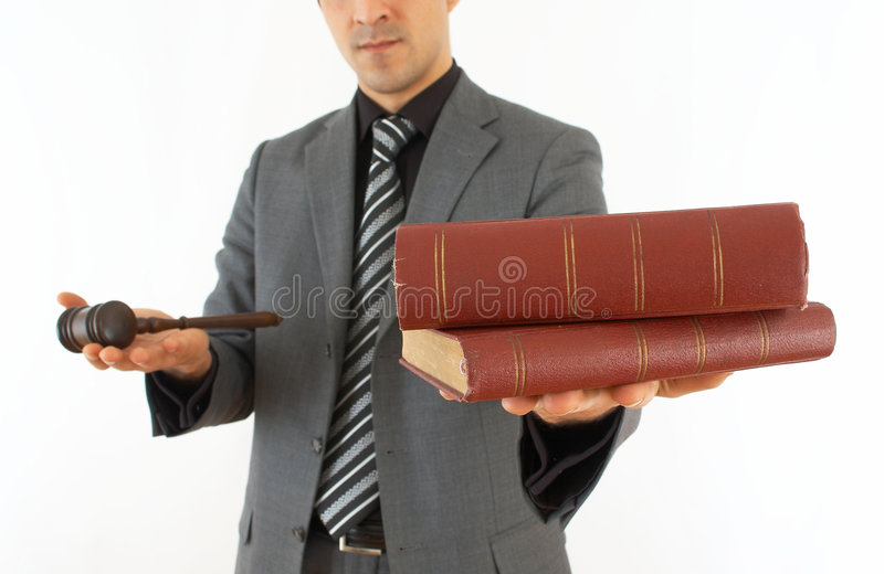 Business laws stock photography