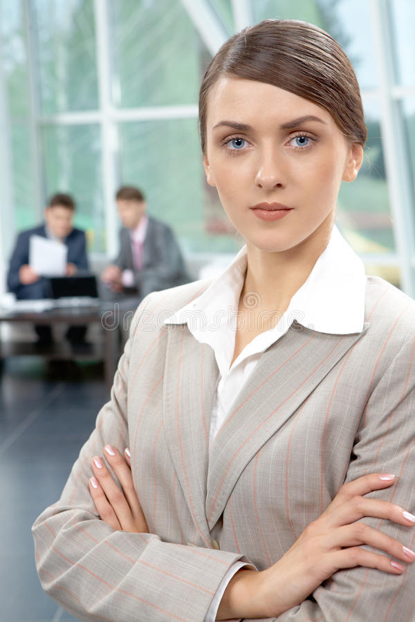 Business leader royalty free stock photos
