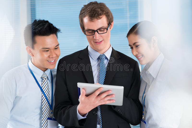 Business leader royalty free stock image