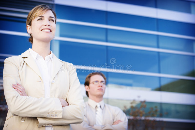 Business Leaders Stock Image