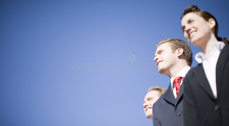Business leaders royalty free stock photo