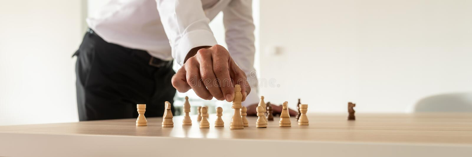 Business leadership concept royalty free stock photos