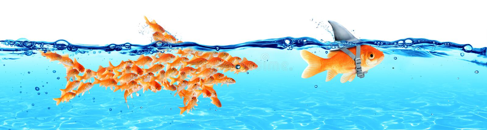 Business - Leadership And Teamwork Concept stock photography