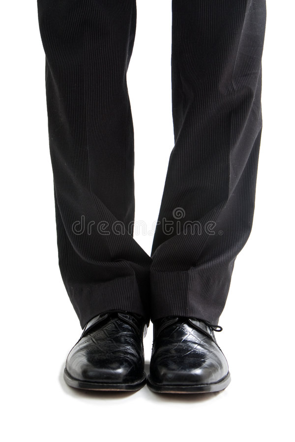 Business legs and feet royalty free stock photos