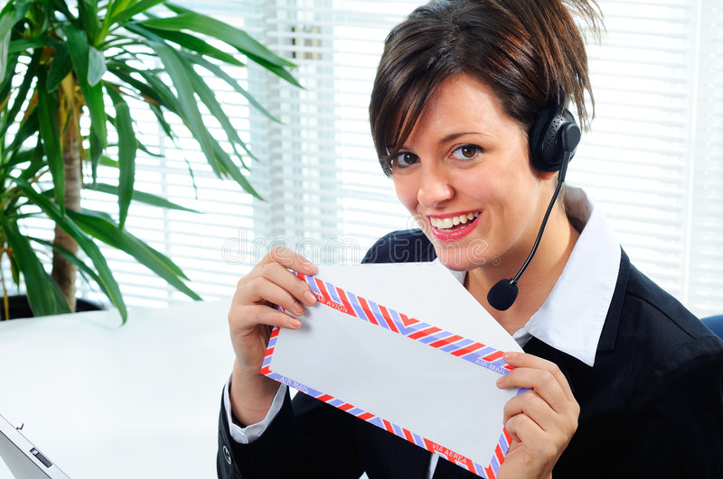 Download Business Letter stock image. Image of envelope, headphones - 4791995