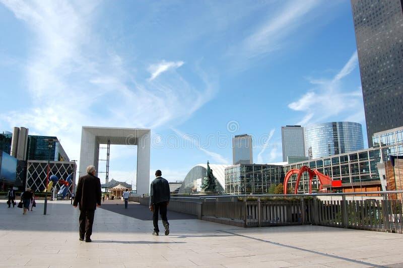 La Grande Arche © 2013 Johan Otto Von Spreckelsen. Paris France stock images