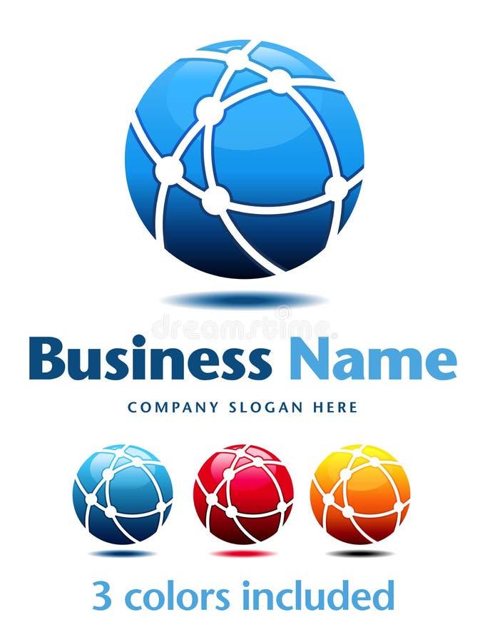 Business Logo. Company, Business Logo Symbol Name Concept royalty free illustration