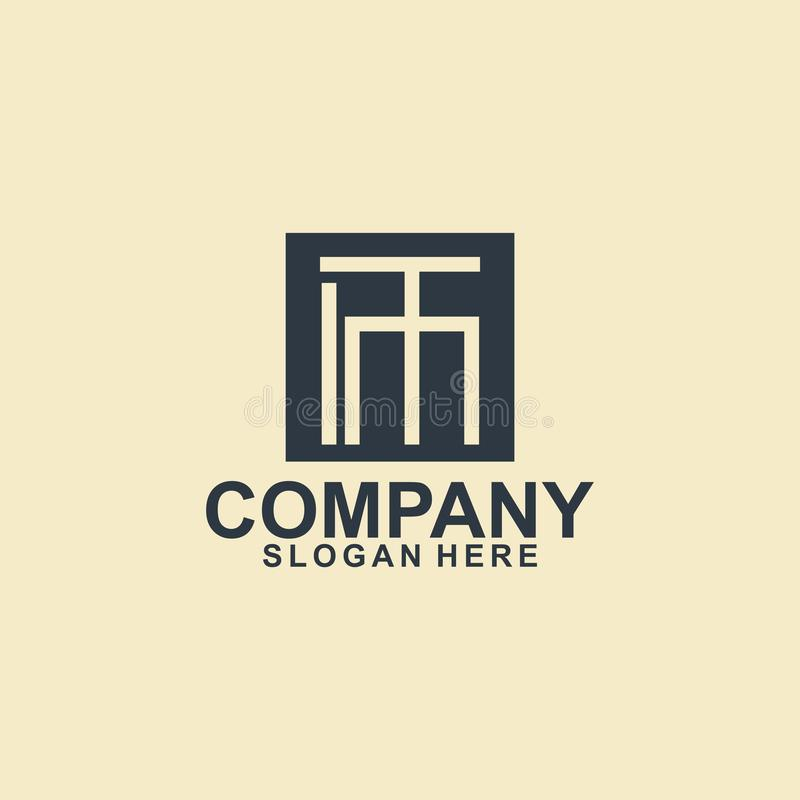 business logo template design vector, beauty, brand royalty free illustration