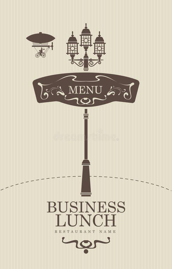 Business-Lunch stock abbildung