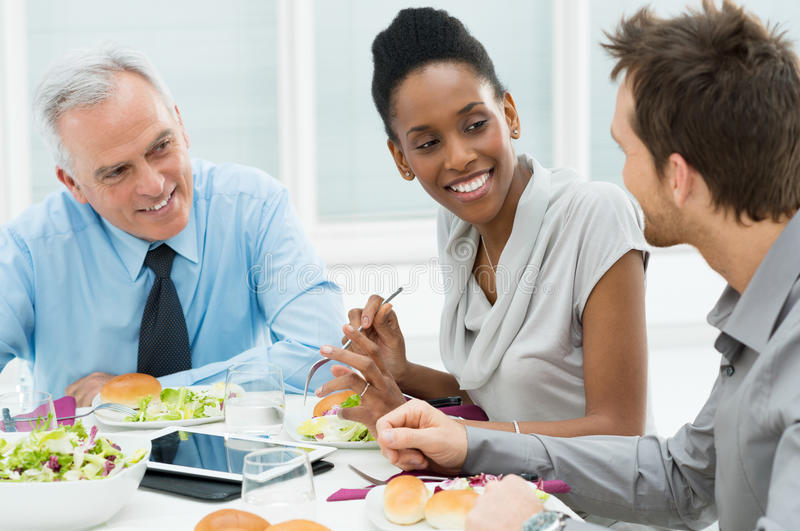 Download Business Lunch stock image. Image of corporate, partnership - 30551913