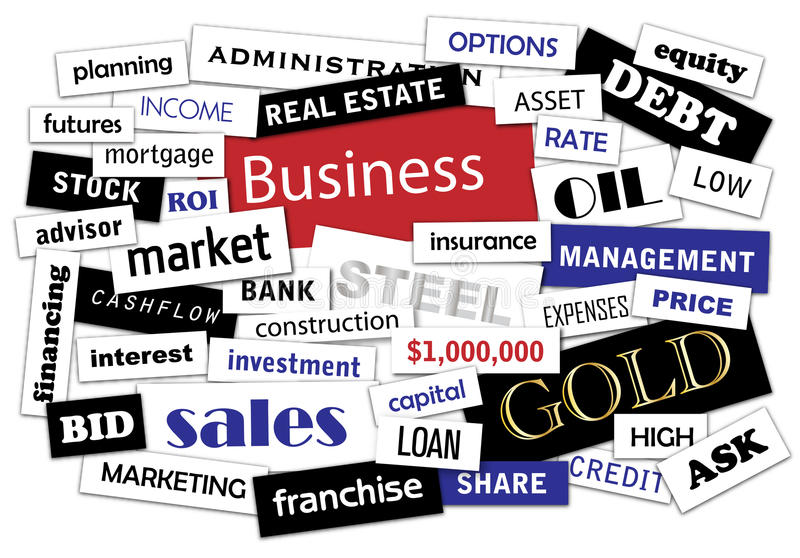 Download Business Magazines Pieces Stock Images - Image: 17097914