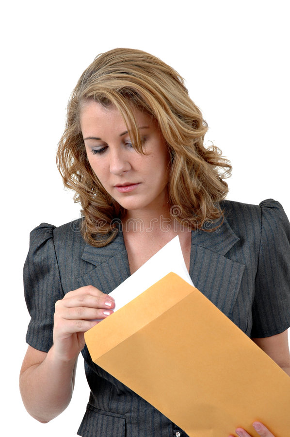 Business Mail stock image