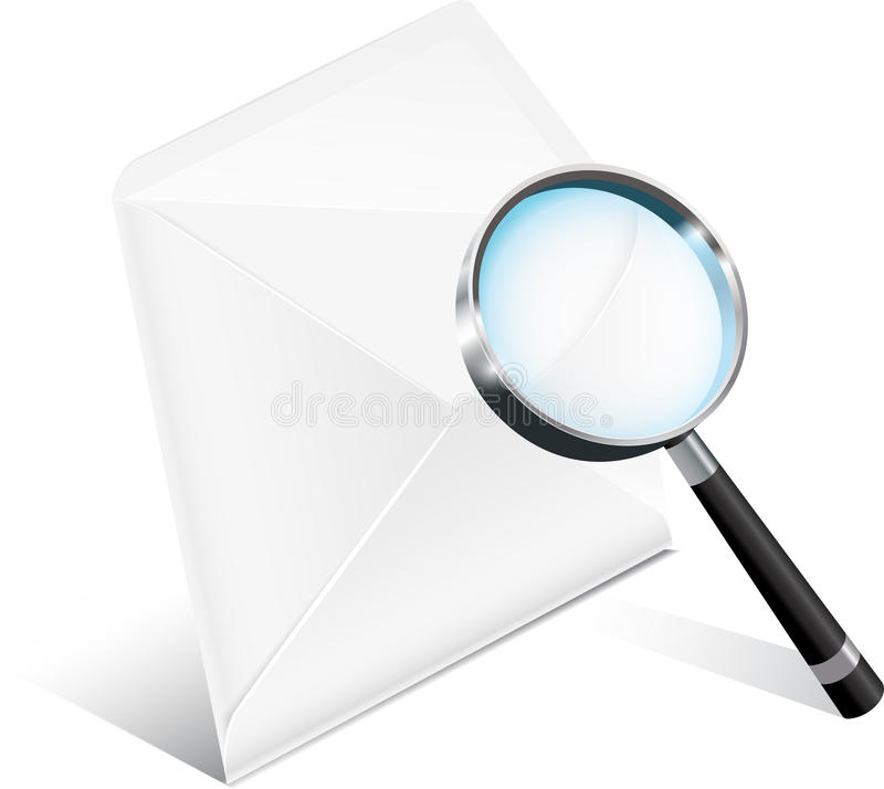 Download Business Mail Icon stock vector. Image of concepts, data - 26460784