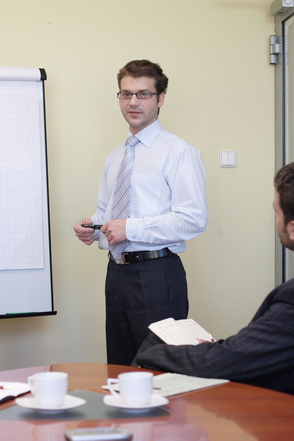 Free Business Making Presentation To The Other Royalty Free Stock Photo - 1781385