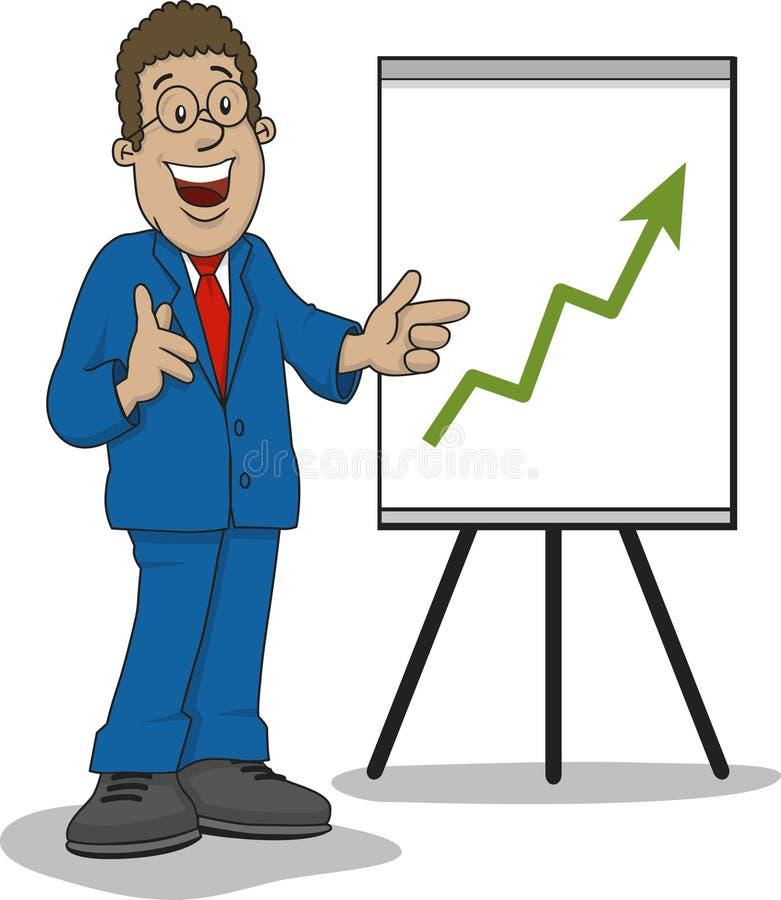 Download Business man stock vector. Illustration of talking, sales - 12268491