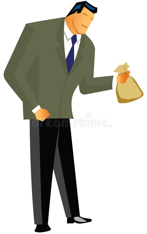 Download Business man stock illustration. Illustration of front - 16322413