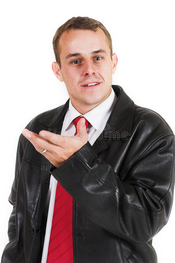Business man #2 stock photography