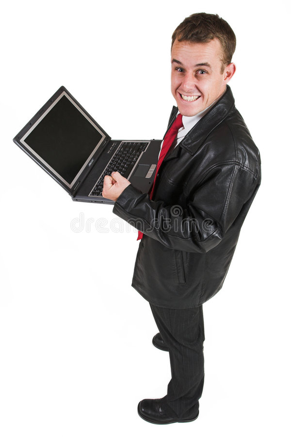 Business man #20 royalty free stock photography