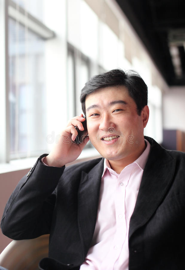 Download Business man stock image. Image of asian, cell, male - 22099001