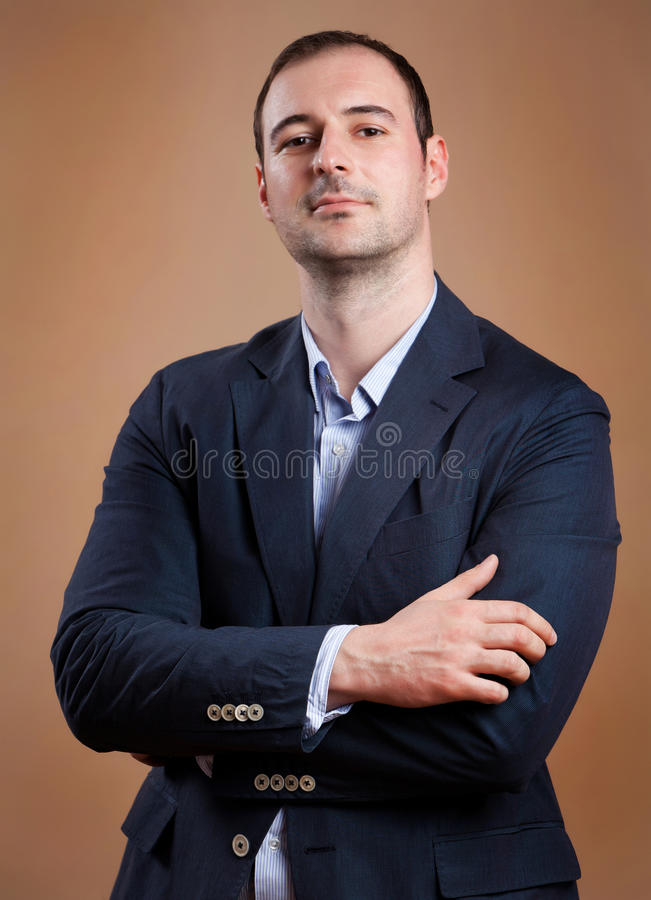 Download Business Man stock photo. Image of embracing, expression - 26538428