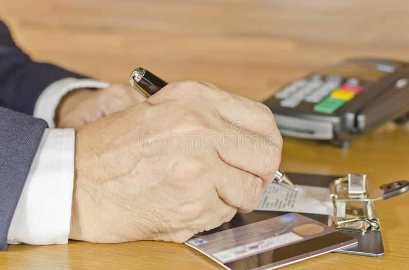 Download Business man stock image. Image of hand, sale, machine - 27010741