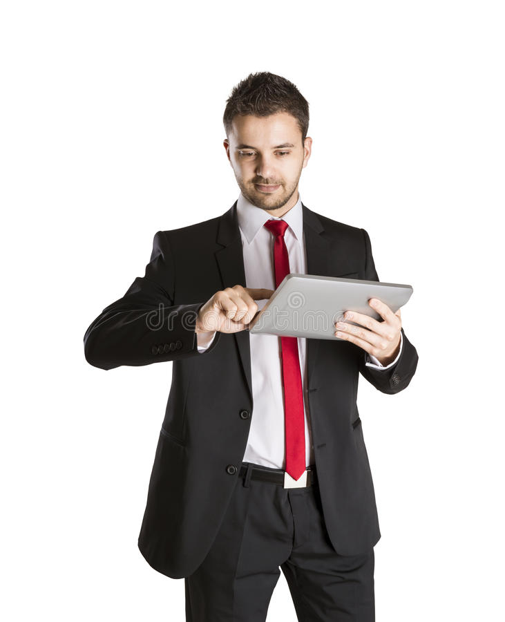Download Business man stock photo. Image of boss, single, person - 27916862