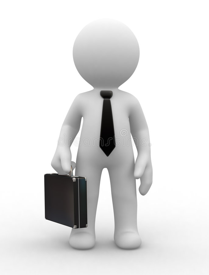 Free Business Man Royalty Free Stock Image - 3440216