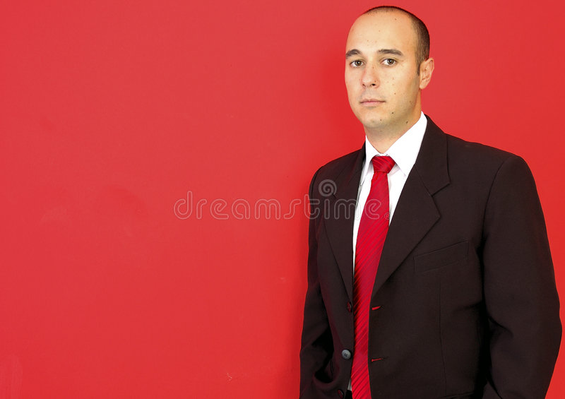 Download Business man stock image. Image of head, cool, right, indoors - 5193769