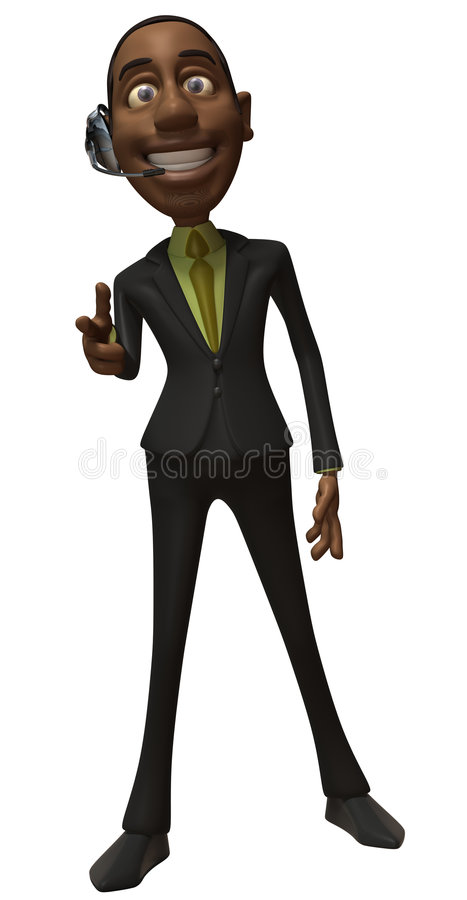 Download Business man stock illustration. Image of shirt, isolated - 8390949