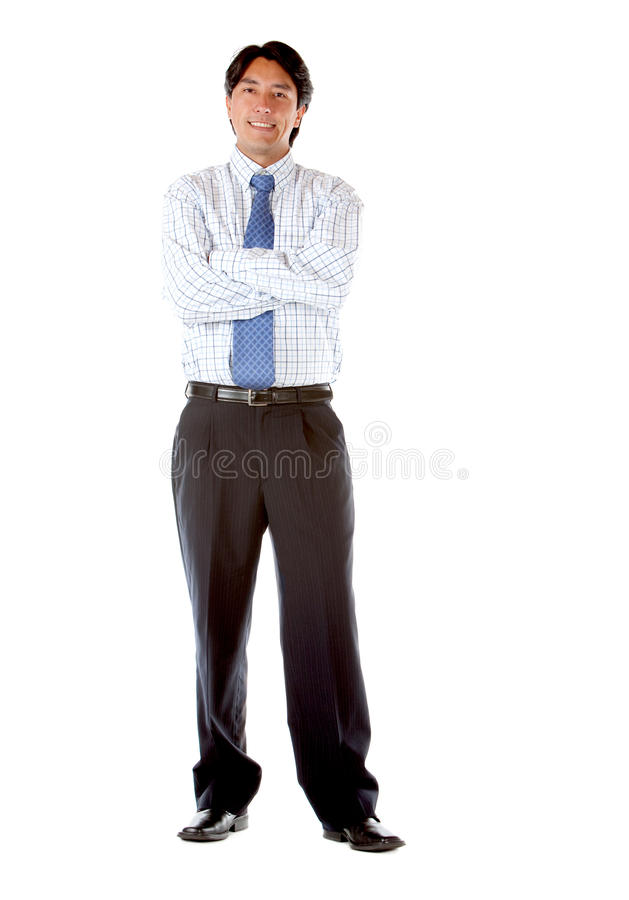 Business man with arms crossed