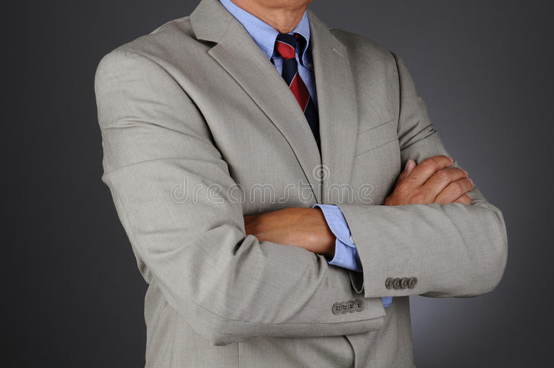 Download Business Man With Arms Folded Stock Photo - Image: 25840278