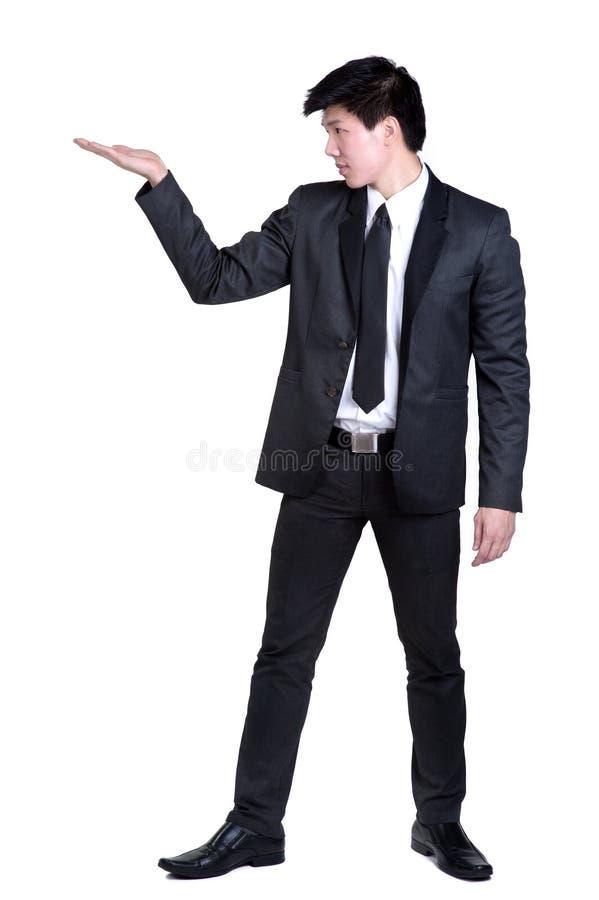 Business man Attractive  smart suit