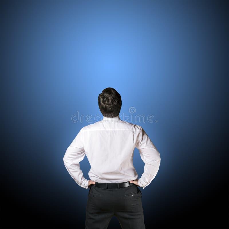 Business man backside stock images